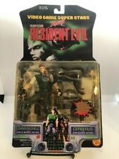 Chris Redfield Cerberus Resident Evil ToyBiz Action Figure MOC See Pictures!