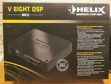 Helix V Eight Mk2 Dsp 8 channel Amplifier by Audiotec Fischer One Year Warranty