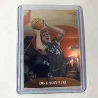 1999-00 Stadium Club Chrome Dallas Mavericks Basketball Card #75 Dirk Nowitzki
