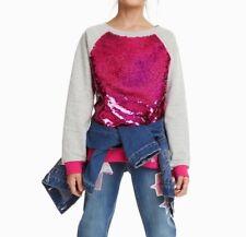 DESIGUAL GIRLS PULLOVER SWEATSHIRT SWEATER EPICURO NEU Gr.110 /116 /5/6 Y