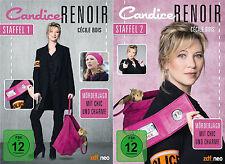 Candice Renoir - 1 und 2 Staffel - 7 DVD - 2 Boxen