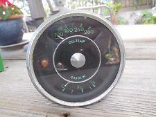 Porsche 356 early Oil Temperature / Fuel Gauge