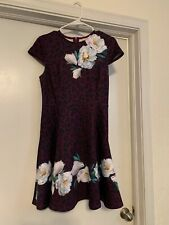 ted baker wilderness dress size 4/6 US Ted Baker size1 worn once