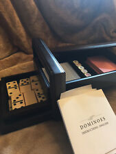Restoration Hardware Portable Dominos,Cards and Dice