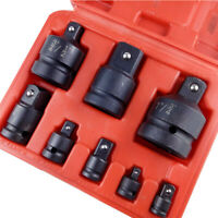 "Tools Socket Adaptor Impact Converter Set From To 1/4"" 3/8"" 1/2"" 3/4"" 1"" 8pcs"