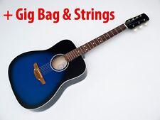 EAGLE Seven 7 string acoustic Dreadnought guitar Russian Gipsy Ukraine BL +Bonus