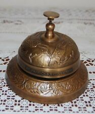 COLLECTABLE ST. PATRICKS SYDNEY SOLID BRASS DESK / OFFICE BELL .