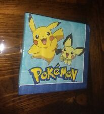 Pokemon Pikachu Birthday Party Pack Plates Napkins (plates posted too combine Sh