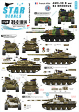 Star Decals 1/35 Decals for French AMX-30 B and AMX-30 B2 Brennus