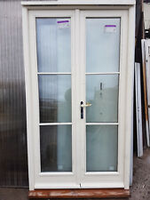 NEW Exterior External Wooden Double Glazed French Patio Double Doors