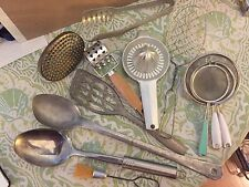 Vintage German Aluminum Kitchen Utensils & More