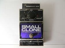 Electro Harmonix Small Clone Full Chorus Effects Pedal  EH4600 Free USA Shipping