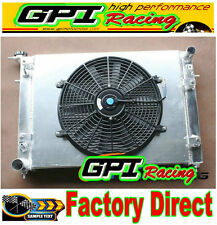 3ROW Holden Commodore VN VG VP VR VS V6 3.8L ALLOY ALUMINUM RADIATOR +shroud+fan