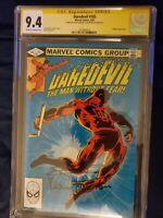 Daredevil #185 9.4(Aug 1982, Marvel) signed my frank Miller and Klaus janson