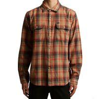 "OBEY Men's L/S Woven Shirt ""Marvyn Woven"" - SAN - Medium - NWT"