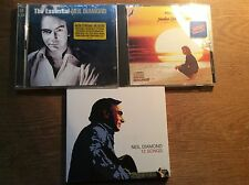 Neil Diamond [3 CD Alben] 12 Songs + Jonathan Livingston Seagull + The Essential