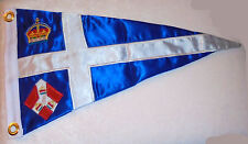 Royal Singapore Boat Yacht Club Harbor Boat Ship Marina Pennant Flag Burgee Race