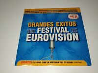 0321- GRANDES EXITOS DEL FESTIVAL DE EUROVISION SINGLE 4 PROMO CD - DISCO BUENO