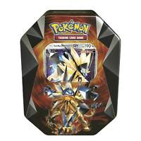 Pokemon Center Original TCG: Necrozma Prism Tin with Dusk Mane Necrozma-GX Card