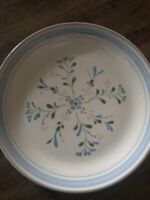 "Fascino by Yamaka Stoneware Hand Decorated Japan Dinner Plate 10-3/4"" X 1-1/2"""