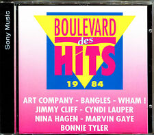 BOULEVARD DES HITS 1984 - CD COMPILATION  [785]