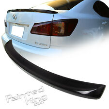 Carbon Fiber For LEXUS F-Type IS250 IS350 IS300h IS250 F Rear Trunk Spoiler--