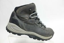 COLUMBIA Newton Ridge Grey Sz 9 M Women Hiking Boots Waterproof