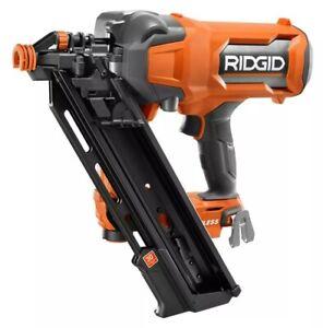 RIDGID 18V 30-Degree Brushless Cordless 3-1/2-inch Framing Nailer (Tool-Only)