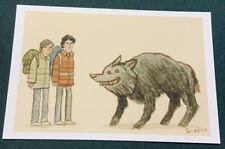 Scott C Campbell Great Showdowns An American Werewolf In London #78/100