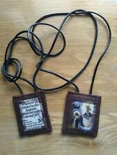 Scapular - Brown - Hard wearing - Wollen - made by Melody