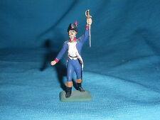 544A MHSP Officier au sabre Soldat Figurine Etain 1/32 Armée Napoleon Tin