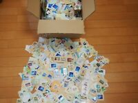 Commemorative Only JAPAN Used Stamps on Paper 2000pcs(360g)Briefmarken Kiloware