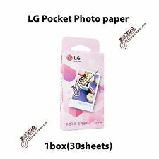 LG PS2203 Pocket Photo PoPo Zink Photo paper 30 sheets / PD261 PD221 PD251 PD269