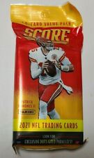 2021 Panini Score NFL Football Value Cello Fat Pack!! Trevor Lawrence? 40 Cards
