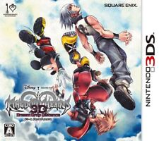 UsedGame 3DS Kingdom Hearts 3D Dream Drop Distance [Japan Import] FreeShipping