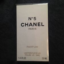 CHANEL No 5 PURSE SPRAY PARFUM MINT Sealed 7.5 ml BNIB christmas 90s