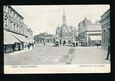 Beds Bedfordshire LUTON Corn Exchange early Boots Chemist 1904 PPC by Photochrom