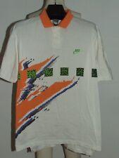 Camiseta Shirt Trikot Maillot Tenis Polo Vintage NIKE Agassi Challenge T.L