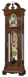 Howard Miller 611-246 Polk - Traditional Cherry Presidential Grandfather Clock