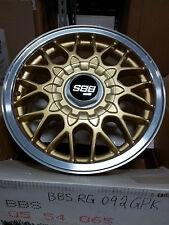 BBS Wheel RG092 GPK 15x6.5 5x114.3 +56 70.1