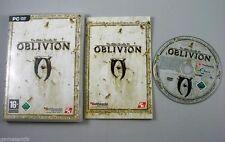The Elder Scrolls IV 4 Oblivion mit gedrucktem Handbuch Erstauflage  PC