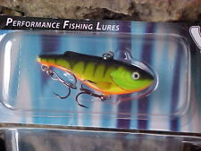 Salmo Zipper SZ4 HP in HOT PERCH for Vertical Fishing on Open Water/Ice