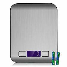 Digitale Küchenwaage Elektronische Waage 5kg mit großem LCD-Display