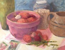 Harvest Still Life Potatoes 18 x 24 oil on canvas Margaret Aycock