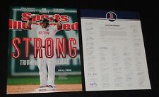 2013 Boston Strong Red Sox Jonny Gomes Picture 8x10 Team Issue Marathon FREESHIP