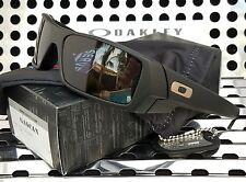 New Std. Issue Oakley 9014-06 GASCAN Sunglasses Soft Matte Black w/Gray Lenses