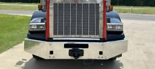 """Kenworth T800 Stainless Steel 15"""" Bumper Tapered Break Back 2004& Nw #15910"""