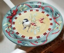 ( 1 ) Lenox /  Winter Greetings Everyday / CHICKADEE / DINNER Plate