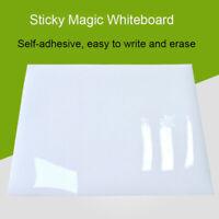 Feuilles A5 A4 A3 A2 Sticker tableau blanc magique Autocollant Réutilisable roll