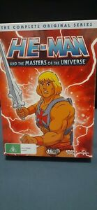 HE-MAN  AND THE MASTERS OF THE UNIVERSE  COMPLETE  ORIGINAL SERIES. NEW & SEALED